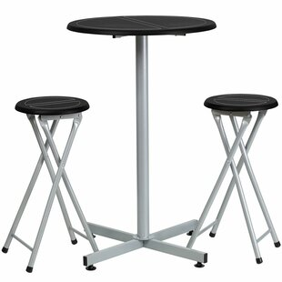 Kuehn 3 Piece Pub Table Set Symple Stuff