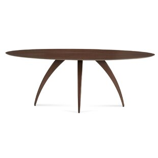 Cullum Ellipse Solid Wood Dining Table