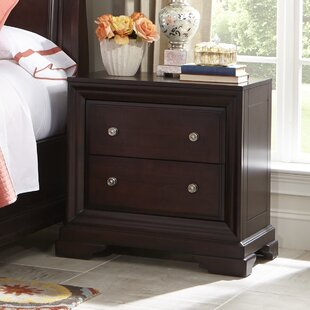 Newport 2 Drawer Nightstand by Cresent Furniture