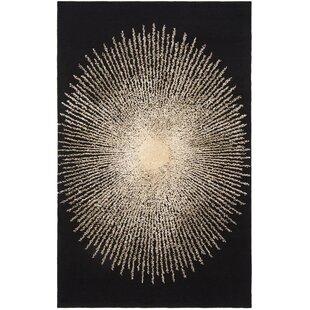 Order Olivarria Hand-Tufted Black/Beige Area Rug ByOrren Ellis
