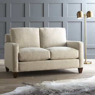 Best Choices Fuller Hedwig Loveseat by Wayfair Custom Upholstery™ Reviews (2019) & Buyer's Guide