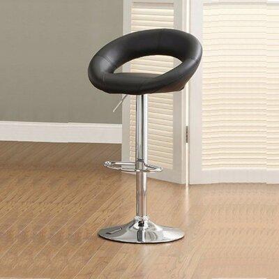 Peachy Mayr Adjustable Height Swivel Bar Stool Orren Ellis Ncnpc Chair Design For Home Ncnpcorg