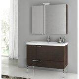 Letourneau 39 Single Bathroom Vanity Set with Mirror by Ivy Bronx
