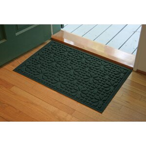 Aqua Shield Evergreen Stained Glass Mat