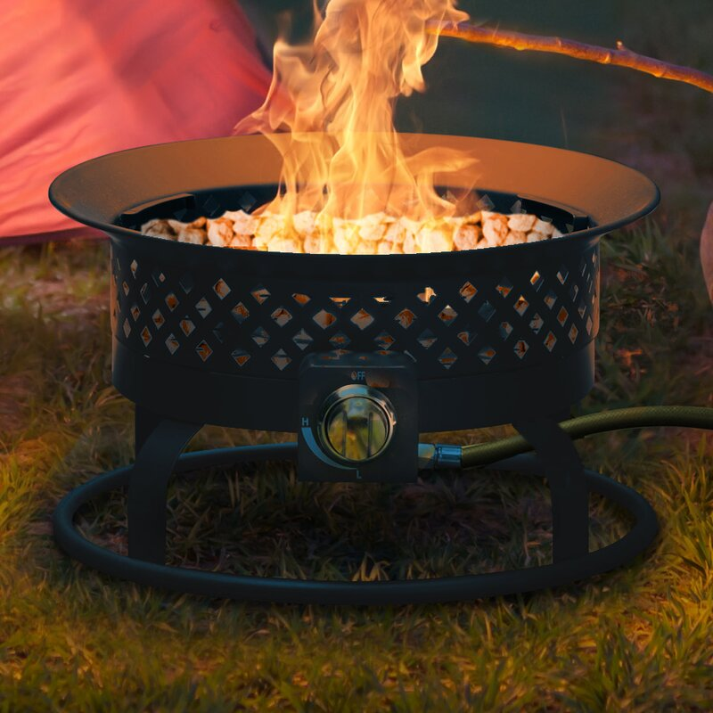 Bond Aurora Steel Propane Fire Pit Reviews Wayfair Ca