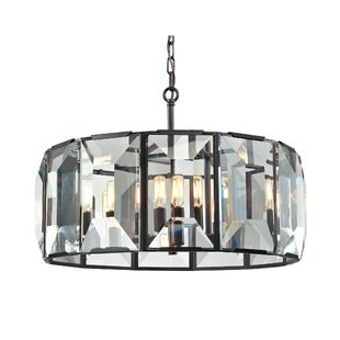 Dionte 6-Light Crystal Chandelier by Will..