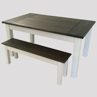 Colonial Harvest Solid Wood Dining Table by Ezekiel and Stearns
