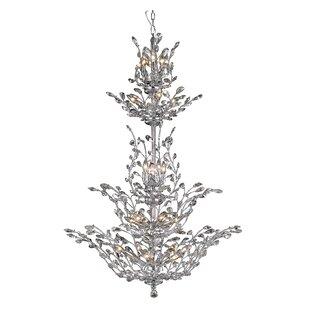 House of Hampton Lamons 25-Light Candle Style Chandelier