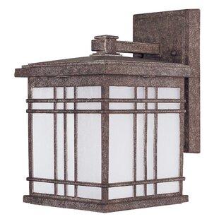Sawyer 1-Light Outdoor Wall Lantern by Loon Peak