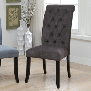 Tomasello Transitional Upholstered Dining Chair (Set of 2)