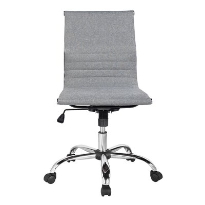 Modern Armless Lumbar Support Desk Chairs Allmodern