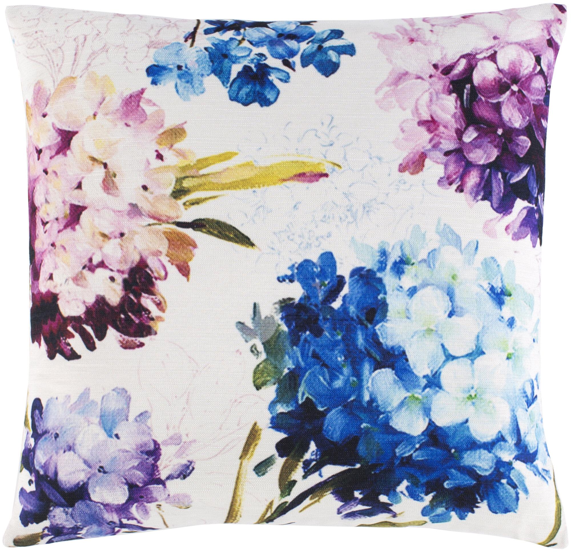 Red Barrel Studio Orsay Perenial Floral Throw Pillow Cover Wayfair