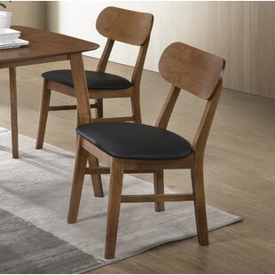 Gilbertson Round Back Dining Chair (Set of 4) George Oliver