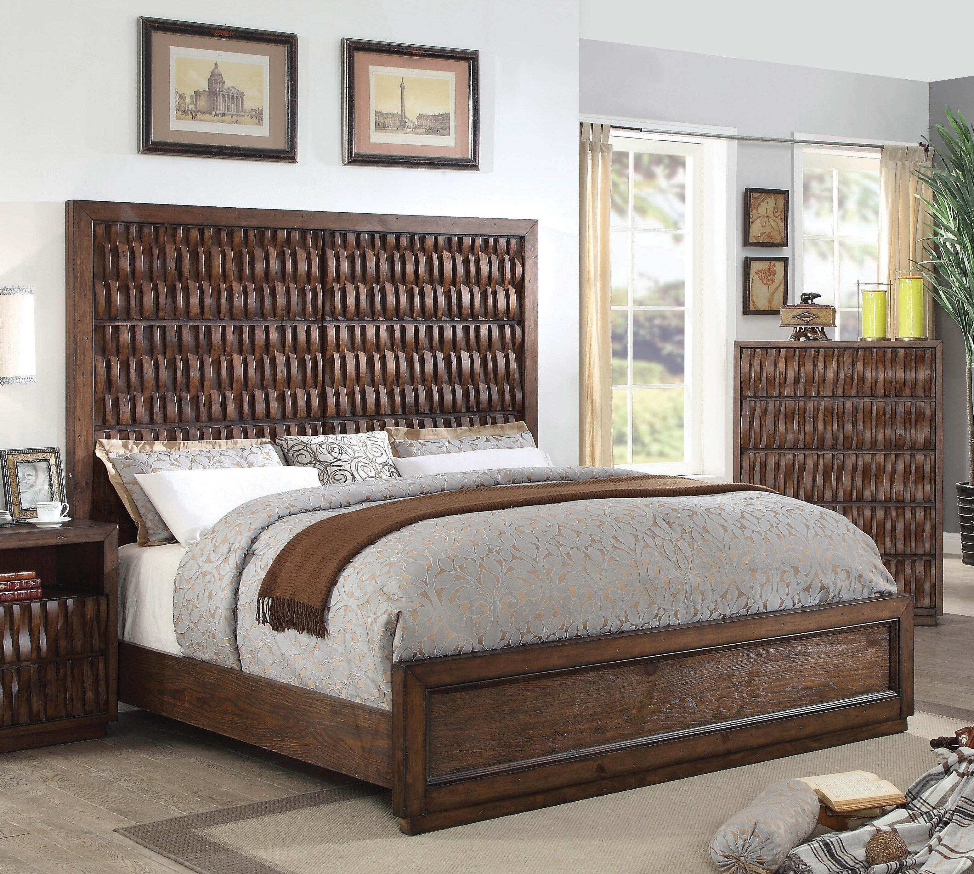 Bloomsbury Market Pinnix Standard Bed With Mattress Wayfair
