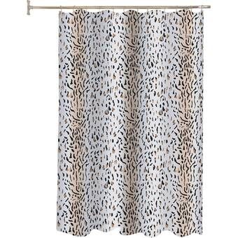 House Of Hampton Malta Sassy Spots Single Shower Curtain Wayfair