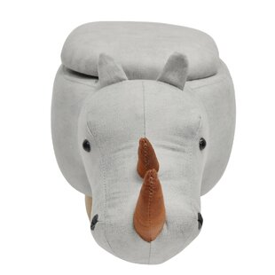 Hoefer Rhino Animal Storage Kids Ottoman by Zoomie Kids
