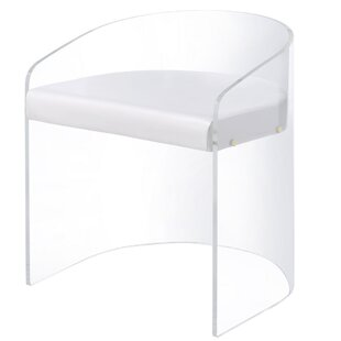 Lovely Citadel Acrylic U Shaped Barrel Chair