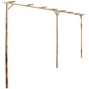 Compare Price Clontarf 3.85 X 2.05m Bamboo Pergola