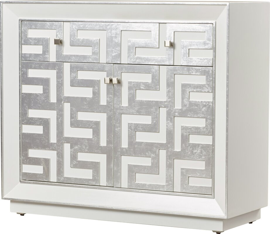Willa Arlo Interiors Runkle 2 Drawer 2 Door Hospitality Cabinet ...