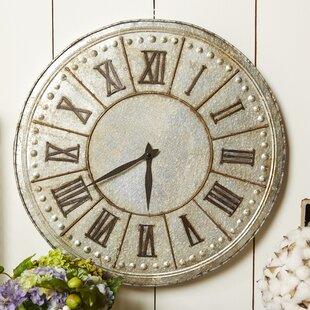 Shabby Wall Clock by One Allium Way