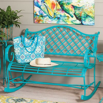 Blue Outdoor Benches You Ll Love In 2019 Wayfair