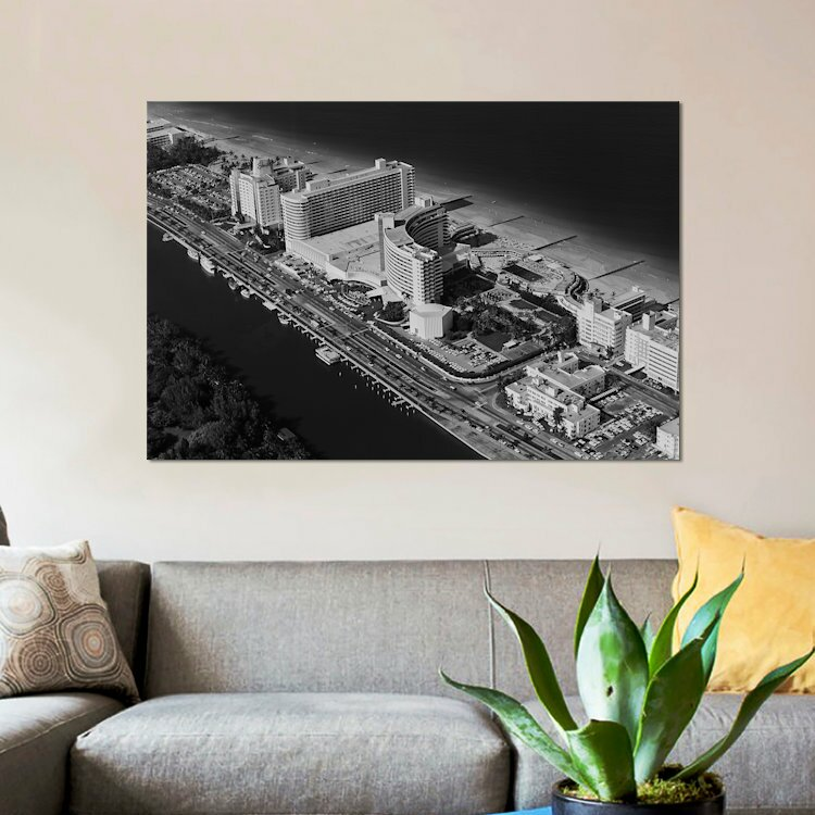 C Florida Hotels And Art Print Home Decor Wall Art Poster Miami Beach