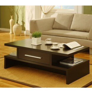 Doner Unique Style Coffee Table with Storage by Latitude Run