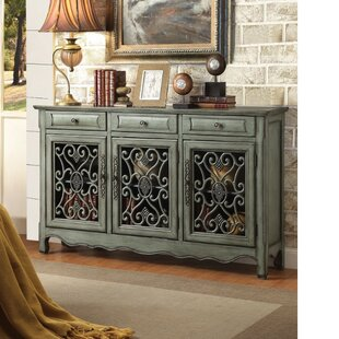Rogalski Traditional 3 Door Accent Cabinet by Fleur De Lis Living