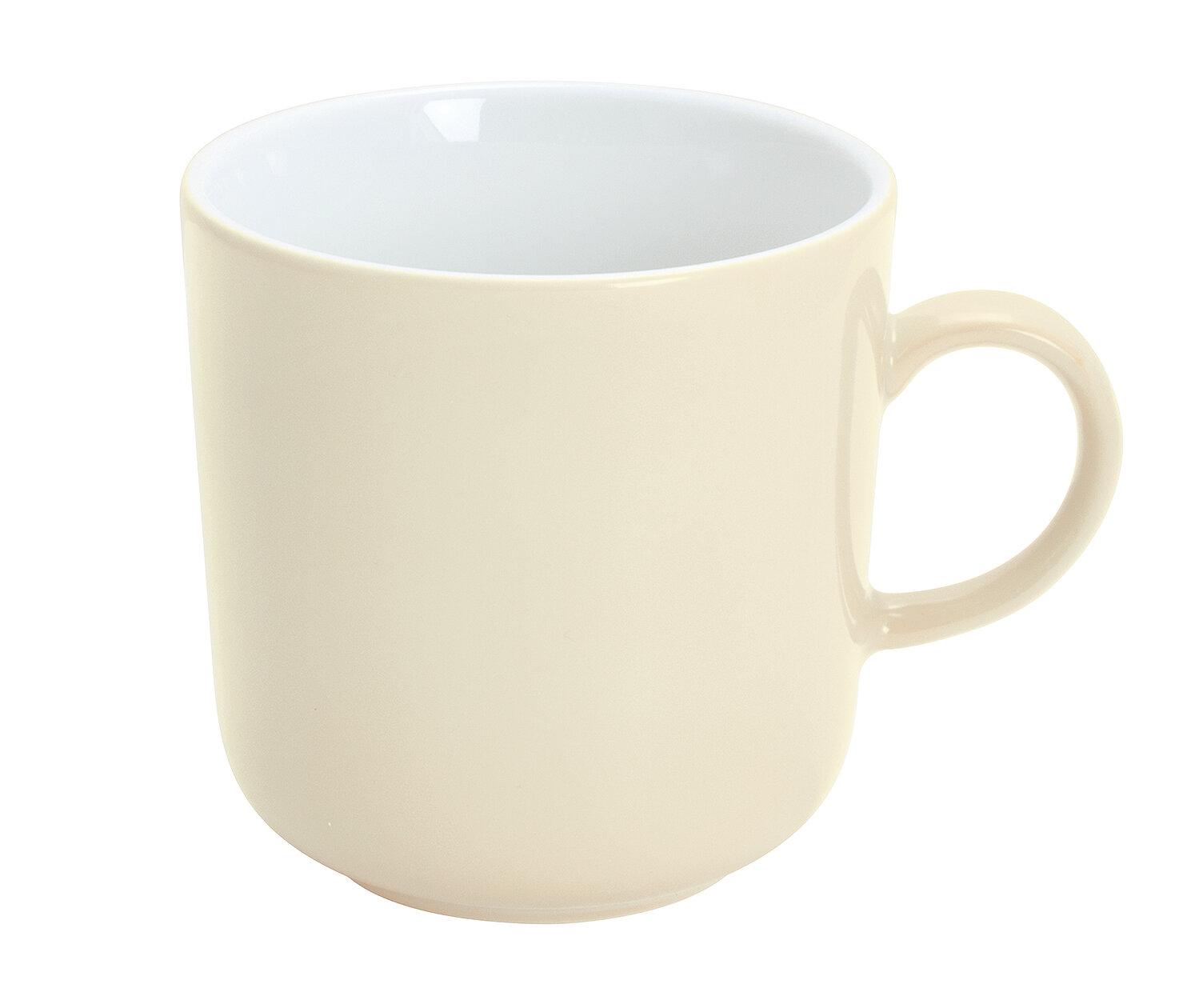 Kahla Pronto Colore Cappuccinotasse Kaffee Tasse Becher Porzellan Petrol 250 ml