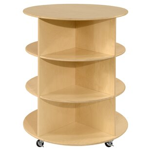 Circular Double Sided 9 Compartment Shelving Unit