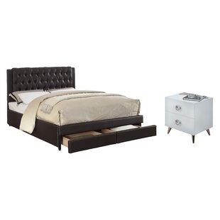 Brenner Queen Panel Configurable Bedroom Set