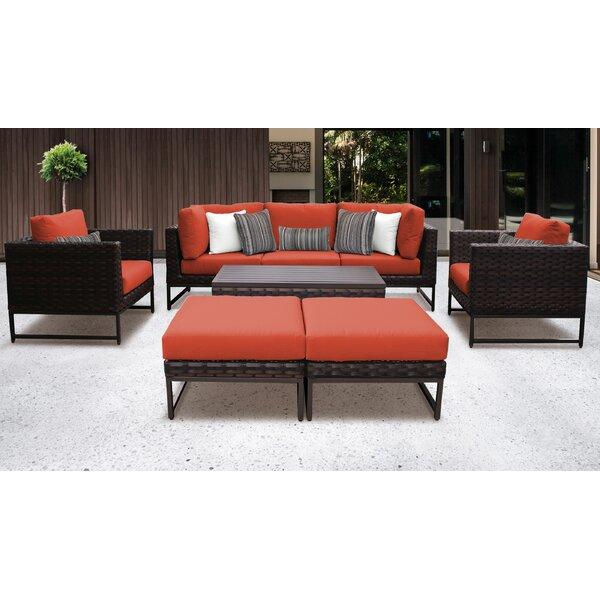 Nauvoo 8 Piece Sofa Seating Group With Cushions