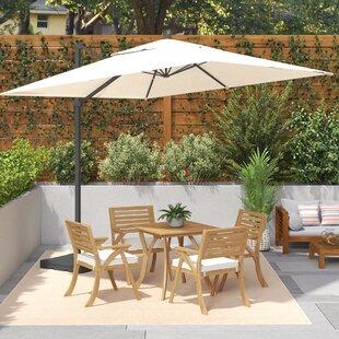 Boracay 10' Square Cantilever Umbrella by Sol 72 Outdoor