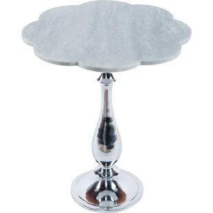 Statements by J Nola Marble Side Table