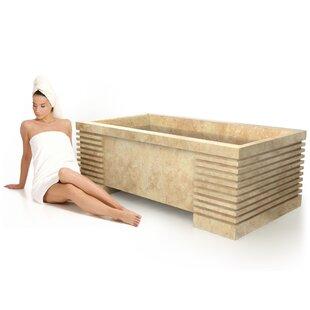 Roma Natural Stone 72 x 40 Bathtub