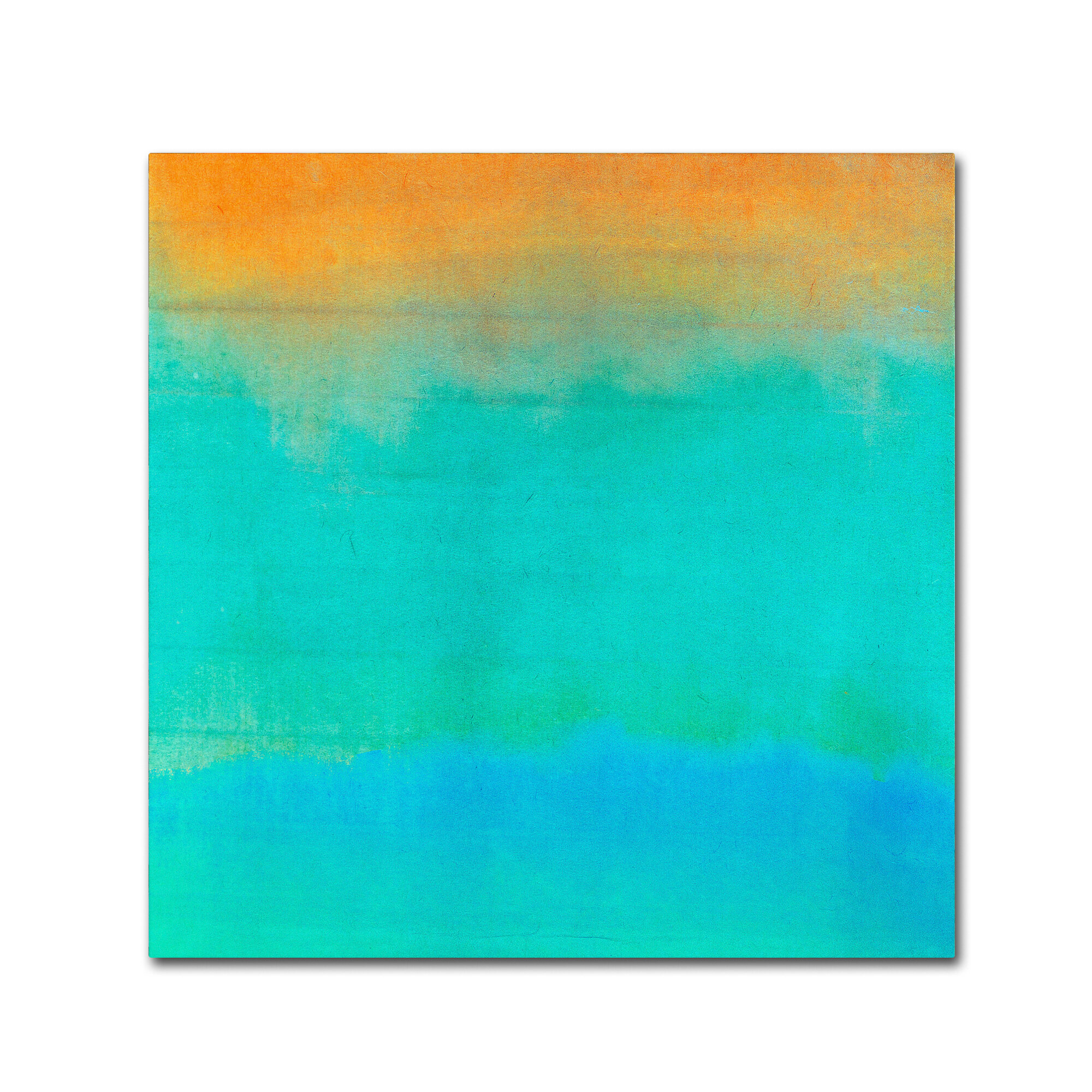 Trademark Art Gradients Ii By Color Bakery Painting Print On Wrapped Canvas Wayfair