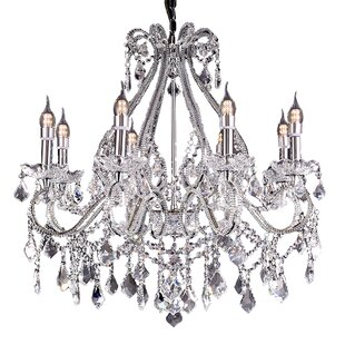 House of Hampton Andesine 8-Light Candle Style Chandelier