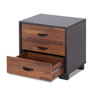 Oaklawn 3 Drawer Nightstand