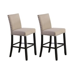 Sensational Haysi Bar Counter Stool Set Of 2 Ibusinesslaw Wood Chair Design Ideas Ibusinesslaworg