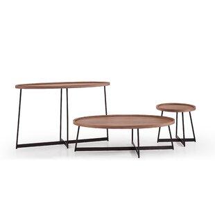Oakern 3 Piece Coffee Table Set