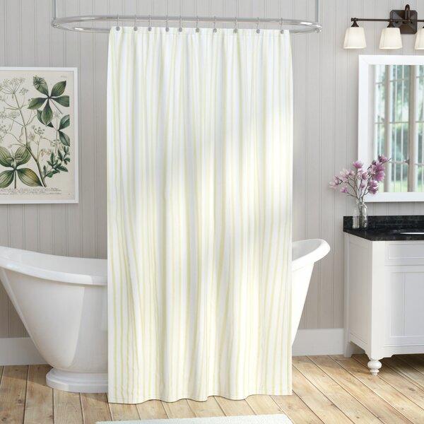 August Grove Cotton Shower Curtain U0026 Reviews | Wayfair