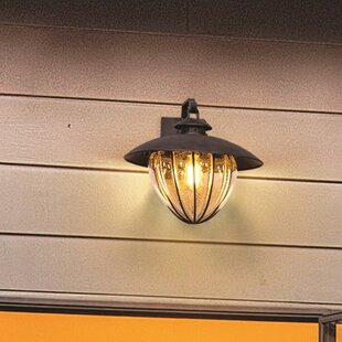 Torrence 1-Light Outdoor Wall Lantern by 17 Stories