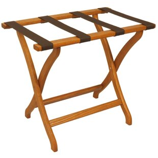 Affordable Deluxe Contour Leg Luggage Rack ByWooden Mallet