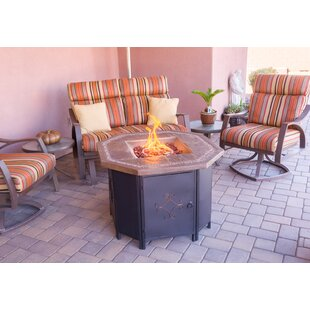 AZ Patio Heaters Faux Stone Propane Fire ..