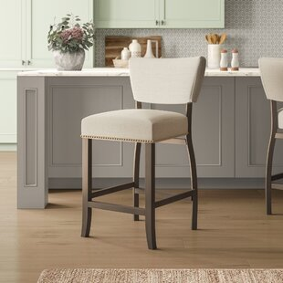 Dunshee Upholstered Bar Stool by Birch La..