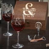 Pharris 25 oz. Stemmed Wine Glass (Set of 2) by Charlton Home