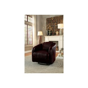 Lomas Faux Leather Upholstered Glider by 17 Stories