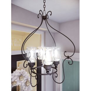Fleur De Lis Living Bilmar 4-Light Shaded Chandelier