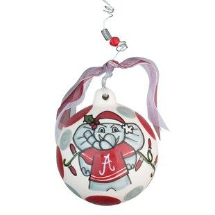 Alabama Elephant Ball Ornament by Glory Haus