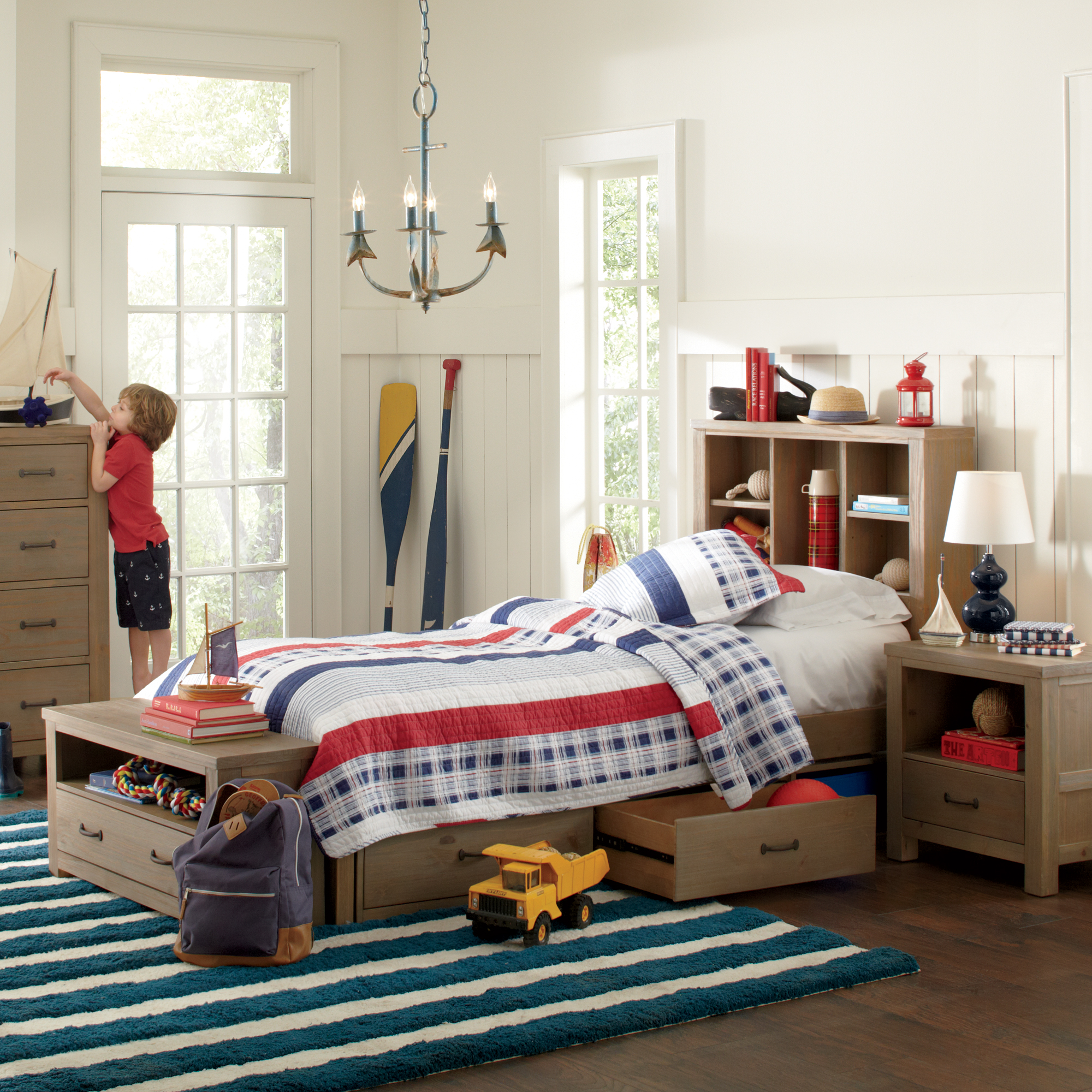 Farmhouse & Rustic Kids Bedroom Furniture